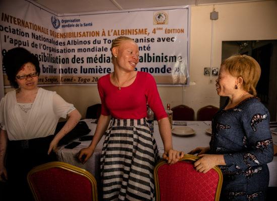 Le siege de l'Association Nationale des Albinos du Togo (ANAT) à LomŽé